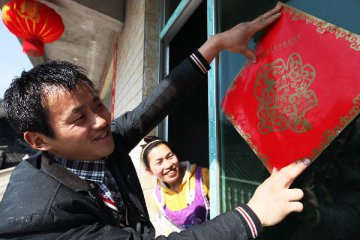 Chinas rural impoverished population down 14.42 mln