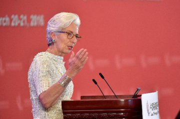 Lagarde backs Chinas 13th Five-Year Plan