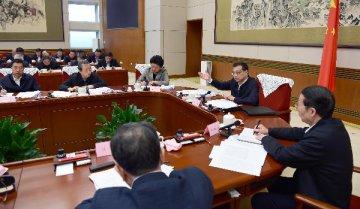 Premier Li targets red tape, officials ills for clean governance
