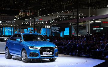 Audi reports substantial growth rate in China in April