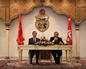 China, Tunisia pledge to boost cooperation in trade, infrastructure