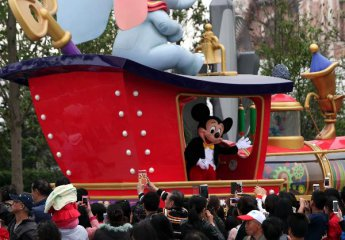 3 kinds of firms partner with Shanghai Disney Resort