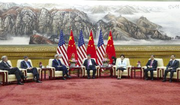 Xi pledges to promote China, U.S. relations, expand cooperation