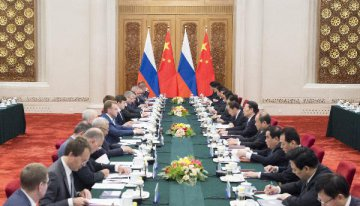 Chinese, Russian central banks sign MOU