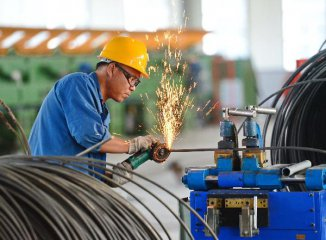 Chinas industrial profits grow 19.5 pct in August