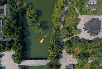 China Jinan Daming Lake Scenery