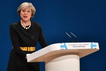 British PM May tells Brexit opponents Britain leaving EU unstoppable