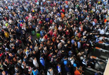 Chinas migrant population totals 247 mln