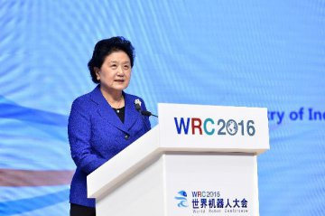 Chinese official urges innovation in robotics technology