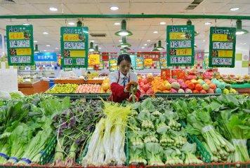 Chinas food prices dip last week