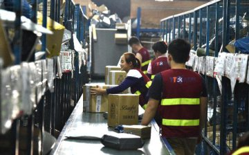 Chinas express delivery sector sees steady growth