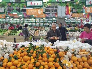 Chinas food prices decrease last week