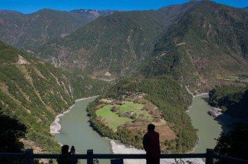 China Yunnan Nujiang Scnery