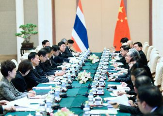 China, Thailand ink deals to strengthen cooperation
