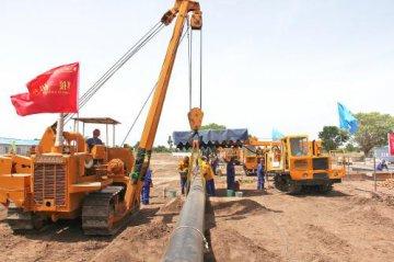 CPP weld for Daniela-Ronier oil field pipeline project in Chad