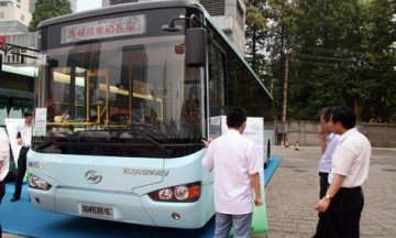 Higer new electric bus manufacturing base established in Kazakhstan