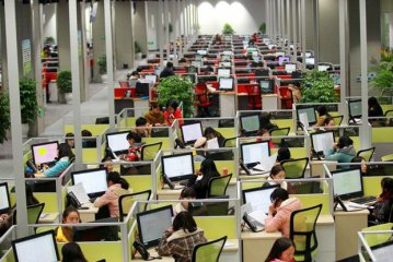 Chinese businesses service outsourcing contracts on the rise