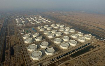 Chinas commercial crude oil stocks down 1.55 percent