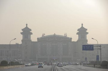 Beijing to keep PM2.5 density low in 2017: govt