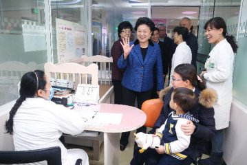 Chinese vice premier stresses community health care