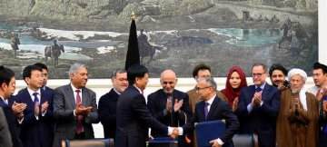 Chinese firm signs contract to build road in Afghanistan