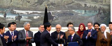 China Road and Bridge Co. inks contract to rebuild key road in Afghanistan