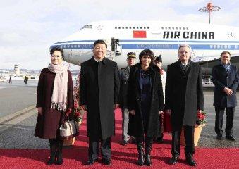 Xi kicks off Swiss visit as Bern presents full set of hospitality