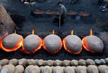 China Hebei Green Clay Utensils