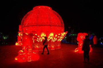 China Henan Xinxiang Festival Lantern