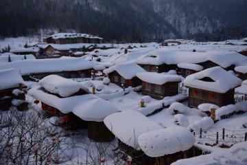 China Heilongjiang Winter Tourism