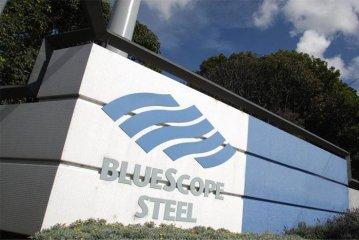 Aussie steel giant Bluescope raises first half projections