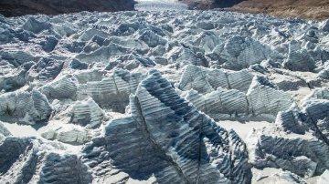 China Tibet Gangbug Glacier