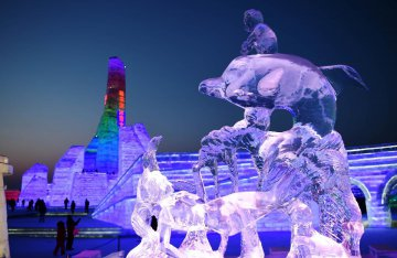 China Harbin Ice And Snow World - Tourism