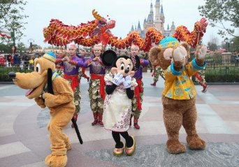 Shanghai Disney contributes to Walt Disneys growth at intl parks