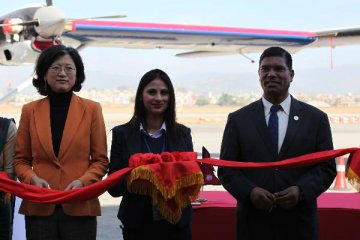 Two China-made planes formally handed over to Nepals national flag carrier