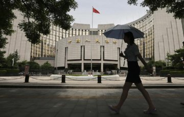 Central bank withdraws liquidity for three weeks