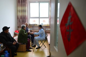 China to streamline approvals for elderly care institutions