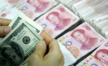 Chinese banks net forex sales drop in January