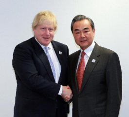 China, Britain agree to promote global free trade