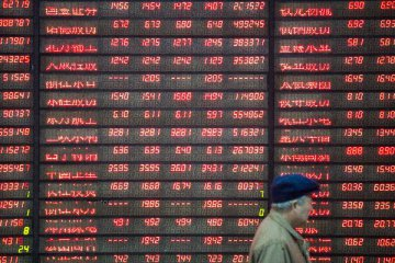 Chinas main stock index rises for third day
