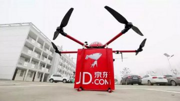 China e-commerce giant to build worlds first drone delivery network
