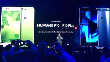 Huawei unveils new devices P10, P10 Plus in Barcelona