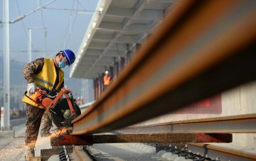 Southern Chinese province sees railway-building boom