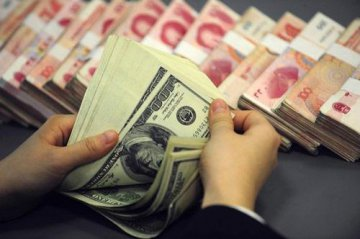Chinese banks net forex sales drop further in February