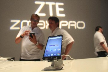 ZTE reports rising revenue in 2016