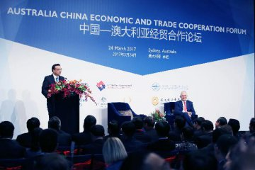 China, Australia need to expand open-up in services, investment: Chinese PM