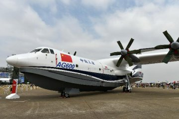 China-made large amphibious aircraft to fly in May