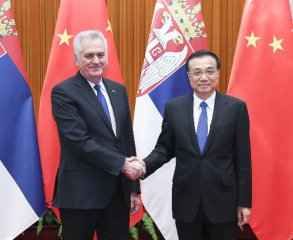 China calls for more cooperation with Serbia within 16+1 framework