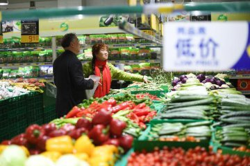 Chinas consumer inflation up 0.9 pct in March