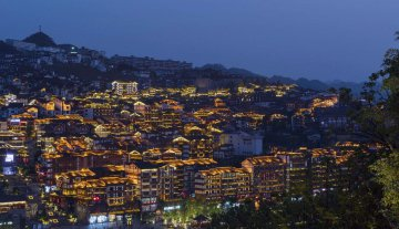 China Guizhou Maotai Night View